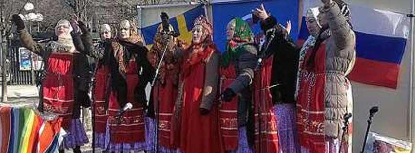 Skruvs sånggrupp Slávenka deltar i rysk kulturfestival