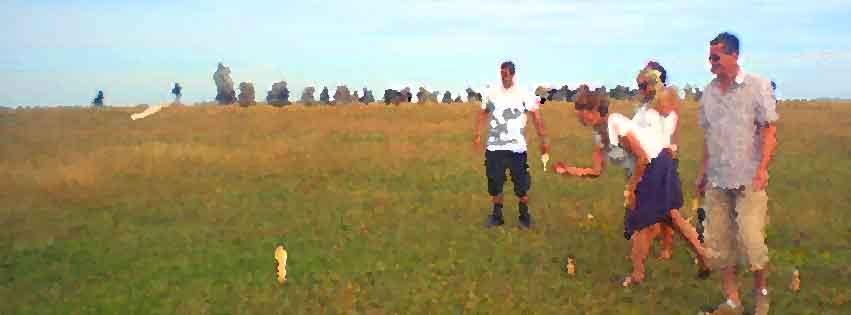 Picknick med kubb