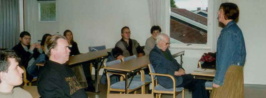 Medlemsträff, tema Kullagymnasiet och Vitryssland