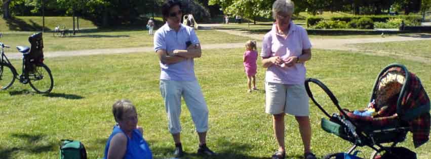 Första picknicken 2007