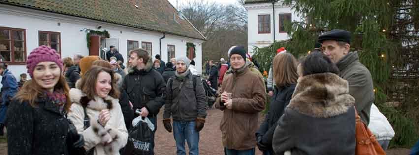 Skruv besöker Jul på Fredriksdal