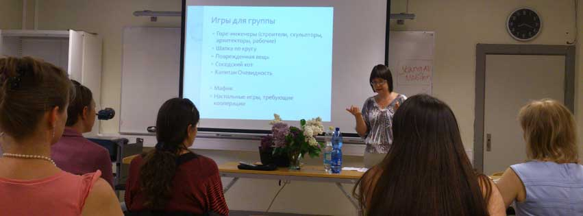 Vetenskapligt och metodiskt seminarium för föräldrar till rysktalande barn