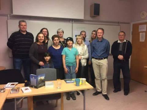 Kort rapport från författarträff i Malmö 5 mars 2017